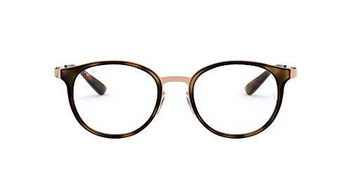 Ray-Ban Damen 0rx 6372m 2732 50 Brillengestell, Braun (Brushed Light Brown)