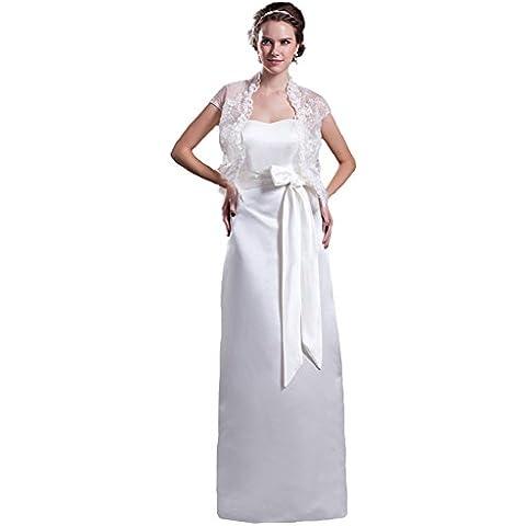 Jspoir Melodiz da donna, con fodera in raso, abito, colonna Sash