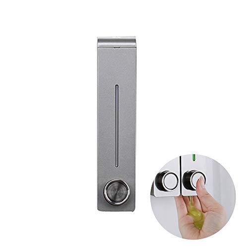 BGSFQW Küche Bad WC Seifenspender Wandmontage Flüssigseife Duschgel Shampoo Spender Küchenreiniger Pressflasche -
