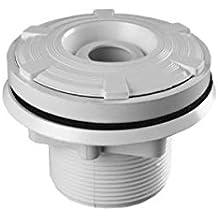 """Kripsol Boquilla para impulsión piscina liner o poliester roscar ABS blanco conexión 2""""/50 mm 5 m3/h"""