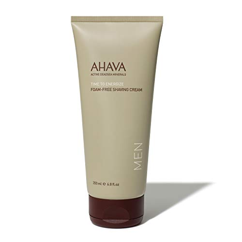 AHAVA Men's Skin Care Foam Free Shaving Cream 200 ml