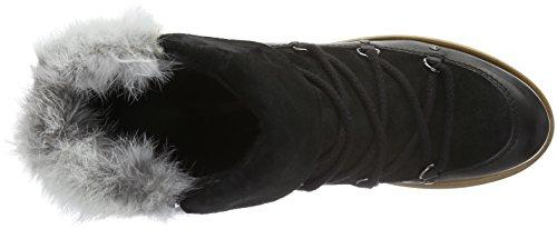 Manas Aspen, Bottes et bottines à doublure chaude femme Noir - Schwarz (NERO+NERO+NERO)