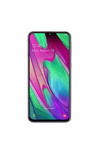 Samsung Galaxy A40 Smartphone (15.0cm (5.9 Zoll) 64GB interner Speicher, 4GB RAM, Dual SIM, coral) - Deutsche Version
