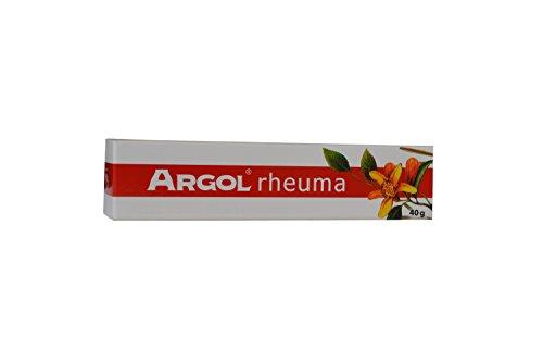 Öl Salbe (Argol rheum, 40g - erwärmende, schmerzlindernde Salbe mit 9 ätherischen Ölen und mehreren pflanzlichen Aktivstoffen, für gute Durchblutung, lindert Schmerzen, entzündungshemmend bei Arthrose, Rheuma,)
