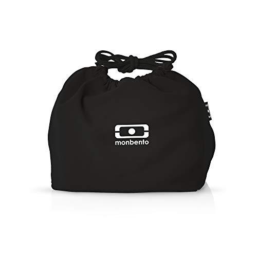 MB Pochette schwarz/weiß - Die Bento Tasche - Besteck Usa Made In