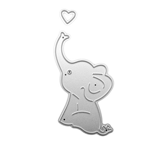 Zoom IMG-1 huhuswwbin fustella cute cartoon elephant