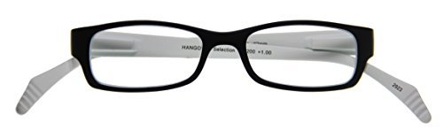 I NEED YOU Lesebrille Hangover Selektion SPH: 1.50 Farbe: schwarz-weiß, 1 Stück