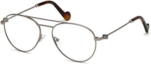 Moncler Unisex-Erwachsene Brillengestelle ML5023 014 54, Grau (RUTENIO CHIARO LUC)
