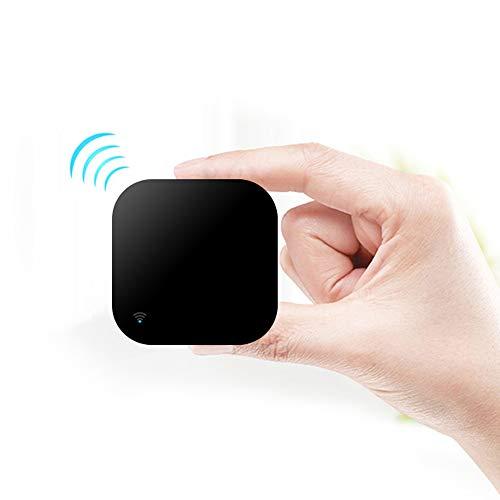 Control Remoto Inteligente IR, automatización Inteligente del hogar, Panamalar inalámbrico WiFi Universal IR Hub de Control Compatible con Alexa y Google Home para Apple Android Smartphones