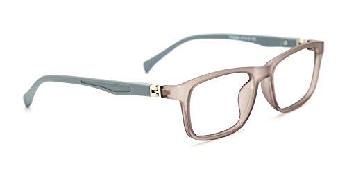 TIJN Jungen Nerd-Brille Flexibel Brille Vollrandrahmen