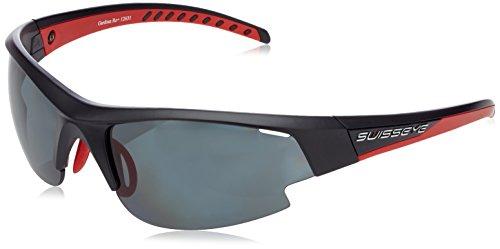 Swiss Eye Sportbrille Gardosa Re+ Black Matt/Red