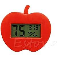 zrshygs hogar termómetro Digital LCD Temperatura Humedad Interior medidor termómetro higrómetro