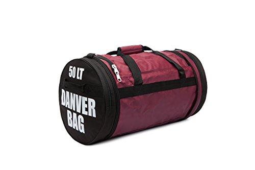 Danver Total Carbon, Bag Bolsa de deporte unisex adulto, Unisex adulto, TOTAL BAG CARBON, rojo, L