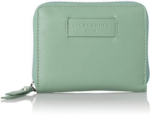Liebeskind Berlin Damen Essential Conny Wallet Medium Geldbörse, Grün (Hedge Green) 3x11x13 cm