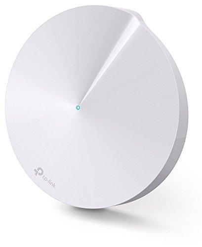 TP-Link Deco M5 Système Wi-Fi complet pour toute la maison (Pack de 1) - Couverture Wi-Fi jusqu'à 139m2 (compatible avec Alexa et IFTTT, remplacement de routeur et de répéteur Wi-Fi, antivirus et contrôle parental)