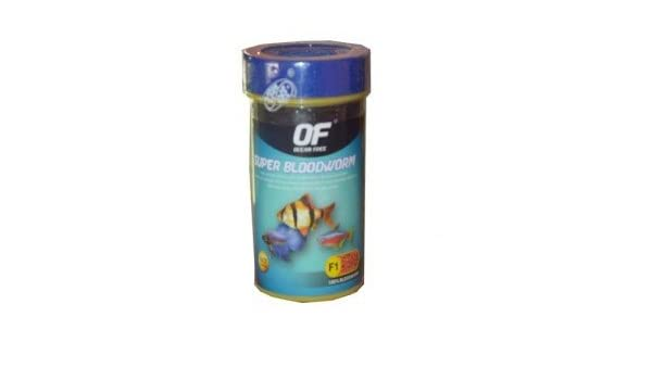 Buy Ocean Free Super Blood Worm Fish Food 10GMS Online at
