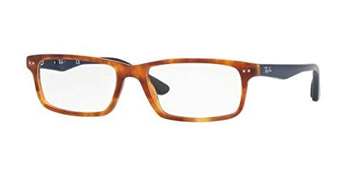 Ray-Ban Unisex-Erwachsene Brillengestell 0rx 5277 5609 52 Rot (Shiny Red Havana),