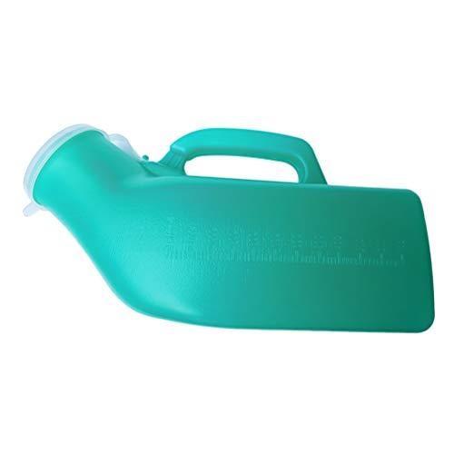 Healifty Pappagallo Urina Bottiglia Portatile Orinatoio Pipì Bottiglia Urinali per Uomo e Donne
