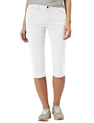 Betty Capri, Bermuda Femme, Blanc (10), W33Pioneer Authentic Jeans