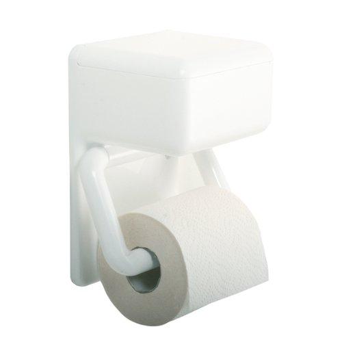 Enzo Rodi Papierhalter mit Feuchttuchbox Serie Casa weiß