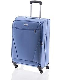 Maleta de Viaje de 4 Ruedas, Bersi de John Travel (Azul, M)