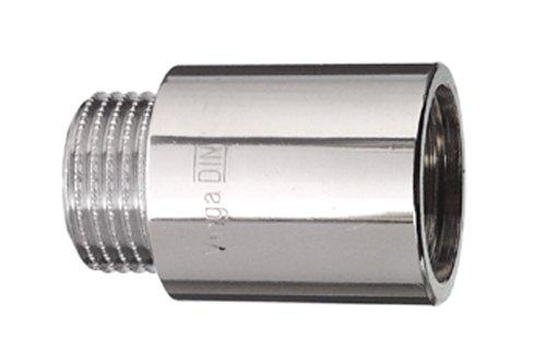 Cornat TEC382406 Hahnverlängerung 1/2 x 65 mm, chrom