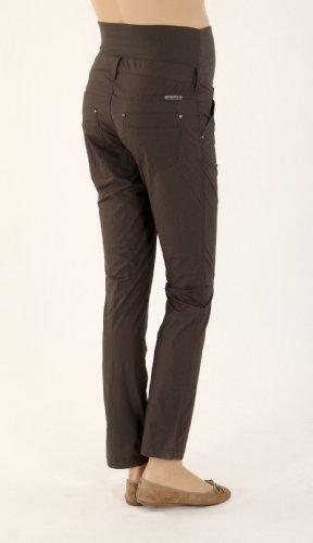 Christoff - Pantalons de Tendance Chino Coupe Droite pour Femmes Enceintes 269/51 beige & anthracite Anthracite
