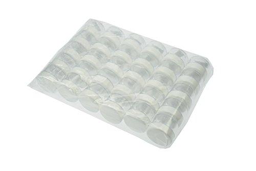 Fantasia cosmétiques boîte plastique blanc couvercle pour 25 ml, 1er Pack (1 x 30 pièces)