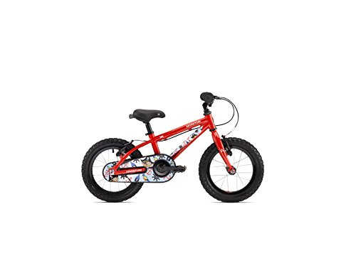 Adventure Boy's 140 Junior Bike – Red/Pirate, 14-Inch