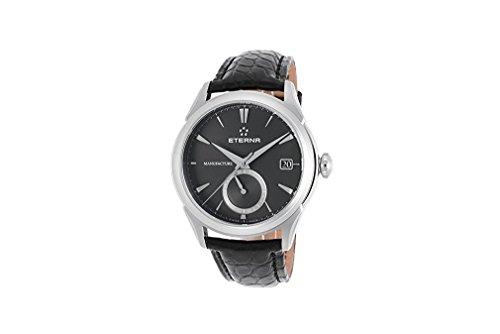 Eterna Reloj los Hombres 1948 Legacy GMT Manufacture Automática 11-7680-41-41-1175