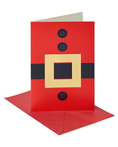 American Greetings 6043654Santa Anzug Weihnachten Box Karten, farbenreiche