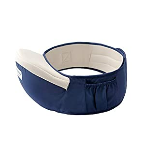 Baby Adjustable Hip Seat Support Comfortable Hip Carrier Belt Carrier Cotton Pocket Hip Carrier Padded Soft Waist Seat Lightweight Soft Waist Stool for Camping Travel   10