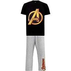 Marvel Pijama para Hombre Avengers Large