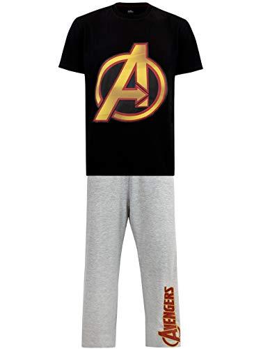 Marvel Herren Avengers Schlafanzuge Mehrfarbig Small