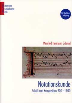 Notationskunde - arrangiert für Buch [Noten / Sheetmusic] Komponist: SCHMID MANFRED HERMANN