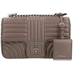 Prada Luxury Fashion Mujer 1Bd108vcox2d91f0yon Marrón Bolso De Hombro   Autumn-Winter 19
