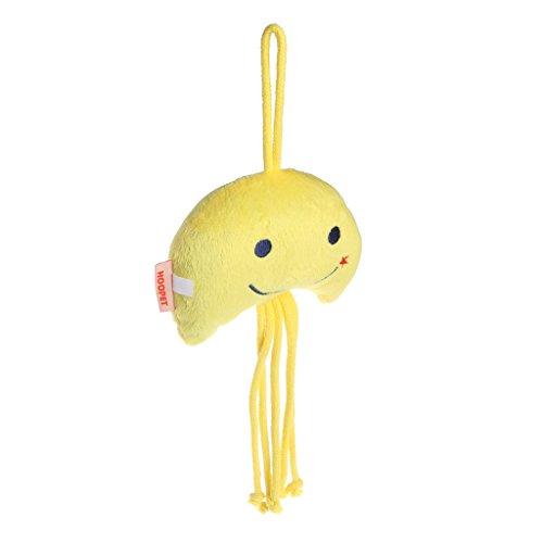 KatzenSpielzeug,Gaxen 1 STÜCK Hund Katze Jelly Fish Kurze Floss Katzenminze Kauen Spielzeug Kätzchen Spielzeug für Pet Trainning (Gelb) (Gelbes Floss)