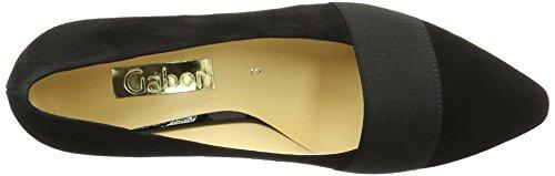 Gabor Shoes Fashion, Scarpe con Tacco Donna, Pacifico Nero (schwarz 17)