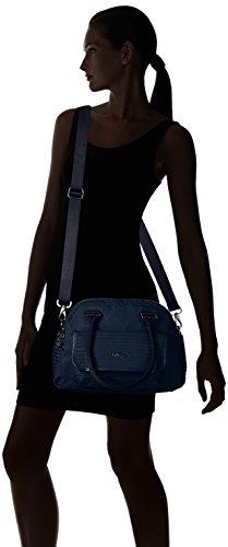 Kipling Sabin, Sacs Portés Main Femme, 32x24x14.5 cm Bleu (REF33R Craft Blue)