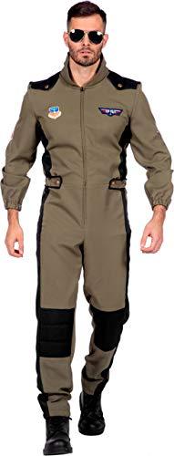 Wilbers & Wilbers Jet Kampfjet Pilot Pilotenkostüm Top Gun Kostüm Air (Air Force Pilot Kostüm)