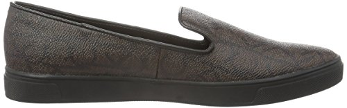 Calvin Klein Damen Hyacinth Iconogram Slipper Braun (Cho)