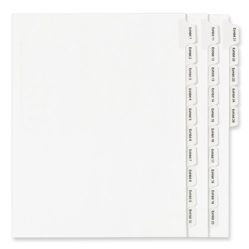 allstate-style-legal-side-tab-dividers-25-tab-1-25-letter-white-25-set
