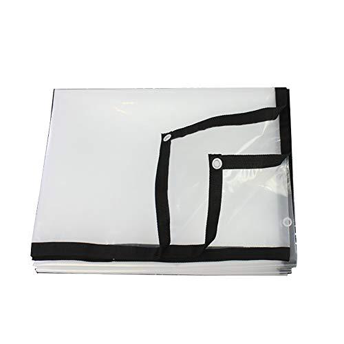 Ultraleichtwasserdicht Zelt Plane Klar Plane Fenster Balkon Plane Canvas (größe : 4×8m) (Canvas-planen Klar)