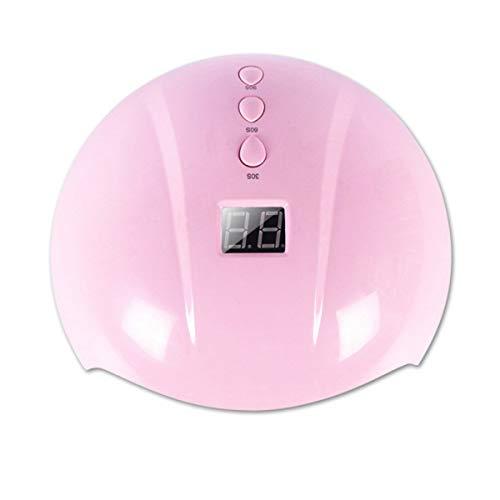 36W UV-LED-Lampe-Nagel-Trockner-Nagel-Curing Gel Polier Maniküre Lampe USB-Mini-Trocknungsgeräte, Star7 Rosa, USB