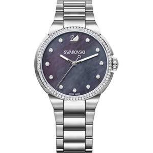 Swarovski Damen Analog Quarz Uhr mit Edelstahl Armband 5205990