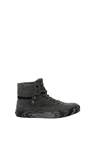 HXM2060L450HG0B401 Hogan Sneakers Uomo Camoscio Grigio Grigio