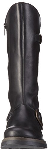 2 Feminino Sexo London Botas Meus 005 Fly black Do Pretas USwZc