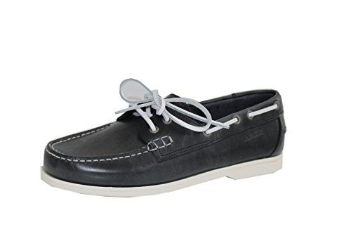 Aigle , Chaussures de bateau femme Navy Grey