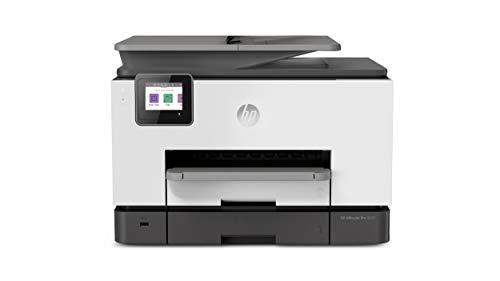 HP OfficeJet Pro 9020 (1MR78B) Stampante Multifunzione a Getto di Inchiostro, Stampa, Scannerizza, Fotocopia, Fax, Wi-Fi, Wi-Fi Direct, Smart Tasks, Compatibile con il Servizio di Instant Ink, Nera