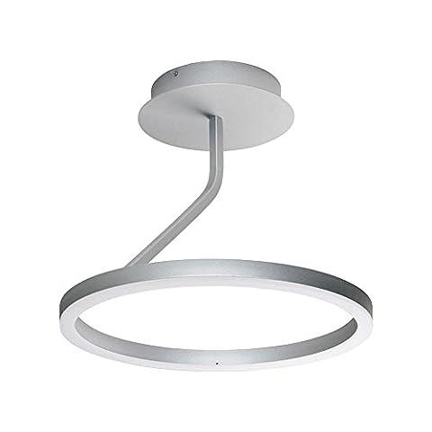"""LED-Kronleuchter, moderne Kronleuchter, moderne Unterputz-Deckenleuchten, Übergangs-Unterputz-Deckenleuchten, LED-Deckenleuchte, Satin-Nickel, 18 """""""